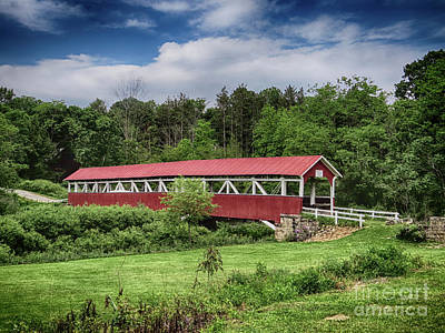 Photograph - Barronvale Covered Bridge by Dawn Gari