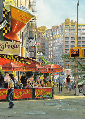 Greenwich Village Painting - Barrow And Bleecker by Tom Hedderich