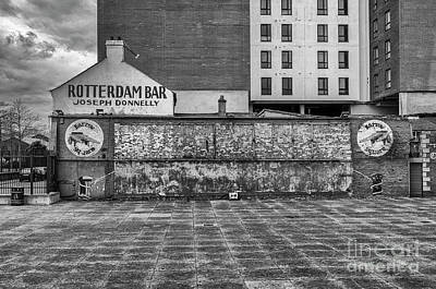 Photograph - Barrow Square, Belfast by Jim Orr