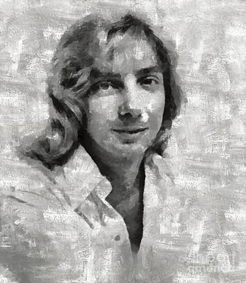 Barry Manilow, Musician Art Print by Mary Bassett