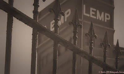 Lemp Brewery Photograph - Bars At The Lemp Brewery. by Timothy Bell