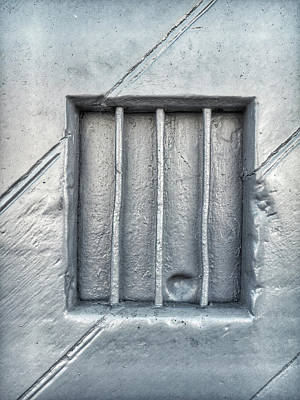Bars In A Wall Art Print by Tom Gowanlock