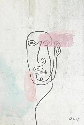 Mixed Media - The Look 3 by Cortney Herron