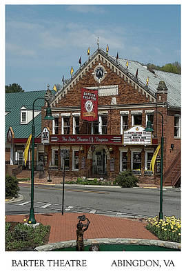 Photograph - Barter Theatre Abingdon Virginia by Denise Beverly