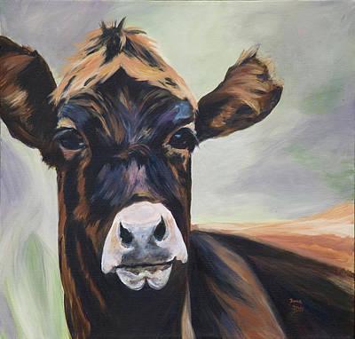 Painting - Barthala-moo by Donna Drake