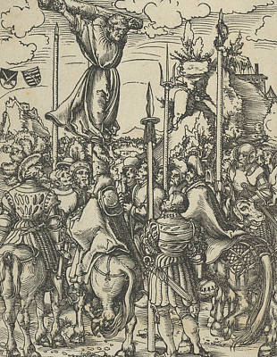 Relief - Bartholomew From The Martyrdom Of The Twelve Apostles by Lucas Cranach the Elder