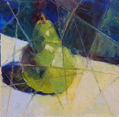 Painting - Bartlett #8 - Fractured by Susan Woodward