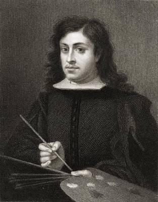 Bartolome Esteban Murillo C.1618-1682 Art Print by Vintage Design Pics