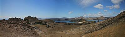 Photograph - Bartolome Island Panorama by John Haldane