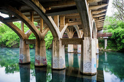 Photograph - Barton Street Bridge by Art Block Collections