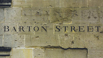 Photograph - Barton Street Carved In The Stone by Jacek Wojnarowski