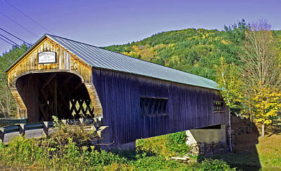 Bartonsville Bridge Art Print