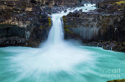Photograph - Basalt And Water by Inge Johnsson