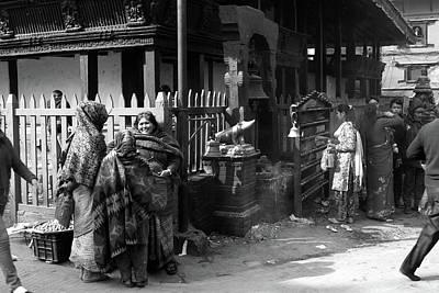 Photograph - Basantapur Darbar Kshetra, Kathmandu, Nepal by Aidan Moran