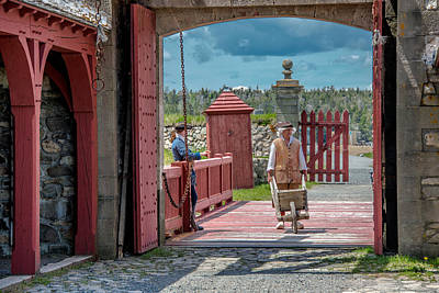 Photograph - Base Gate Of The 18th Century. by Patrick Boening