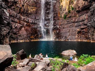 Base Of Jim Jim Falls - Kakadu National Park, Australia Art Print