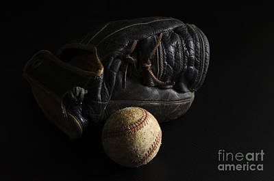 Black Diamonds Photograph - Baseball 1 by Bob Christopher