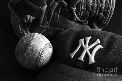 Photograph - Baseball 2 by Bob Christopher