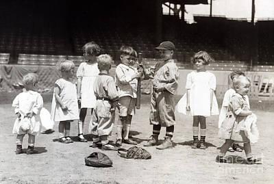Baseball, Americas National Pastime Art Print
