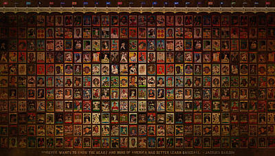 Babes Wall Art - Photograph - Baseball America's Pastime by Jeff Steed