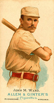 Painting - Baseball Batter by Vintage Pix