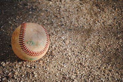 Photograph - Baseball by Bransen Devey