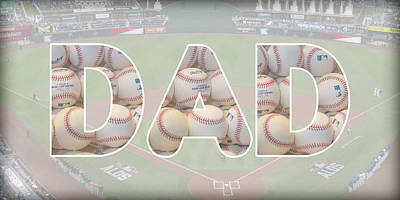 Sports Royalty-Free and Rights-Managed Images - Baseball Dad by Pamela Williams