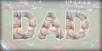 Photograph - Baseball Dad by Pamela Williams