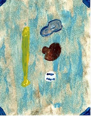 Baseball Dreams Art Print by Rosemary Mazzulla