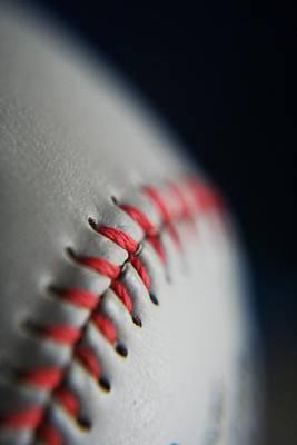 Sports Royalty-Free and Rights-Managed Images - Baseball Fan by Rachelle Johnston