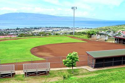 Photograph - Baseball Field At Lahainaluna High School by Kirsten Giving