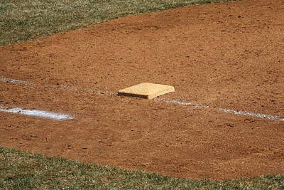 Photograph - Baseball Field  by Frank Romeo