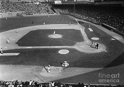 Boston Red Sox Wall Art - Photograph - Baseball Game, 1967 by Granger