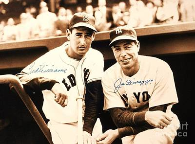 Baseball Heroes Print by Roberto Prusso