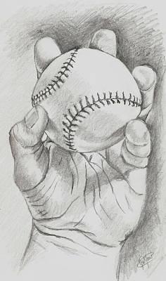 Baseball In Hand Original