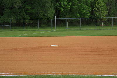 Photograph - Baseball Infield by Frank Romeo