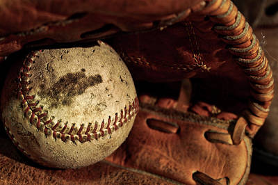 National Past Time Photograph - Baseball Memories by Mountain Dreams