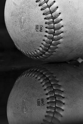 Photograph - Baseball by Morgan Wright