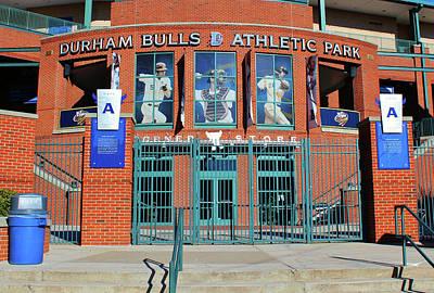 Baseball Stadium Art Print