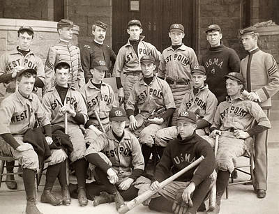 Baseball: West Point, 1896 Art Print by Granger
