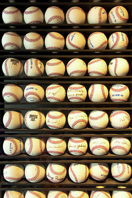 Photograph - Baseball - You Have Got Some Balls There by Mike Savad