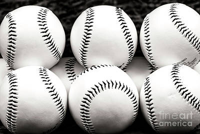 Photograph - Baseballs by John Rizzuto