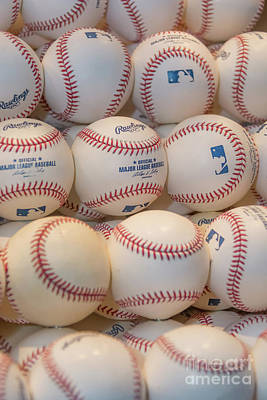 Photograph - Baseballs by Pamela Williams
