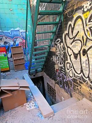 Basement Apartment In Graffiti Alley Art Print by John Malone