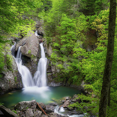 Photograph - Bash Bish Falls 2018 Square by Bill Wakeley