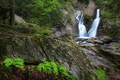 Photograph - Bash Bish Falls Spring 2018 by Bill Wakeley