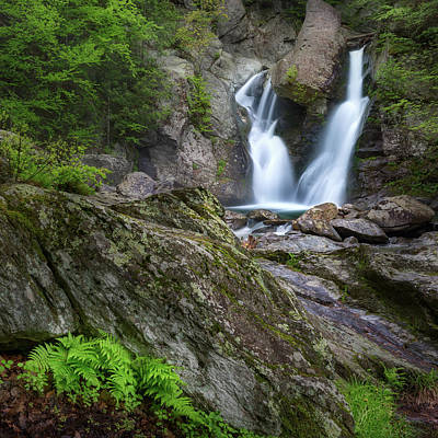 Photograph - Bash Bish Falls Spring 2018 Square by Bill Wakeley
