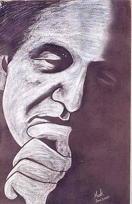 Dadaism Painting - Bashir Mirza  by Mak