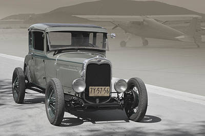 Photograph - Basic 1930 Ford by Bill Dutting