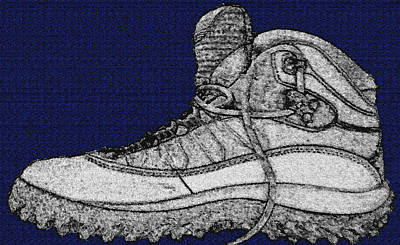Basic Drawing - Basic Boot by Billy Cooper Rice